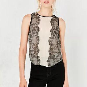 UO lace blouse (xs)